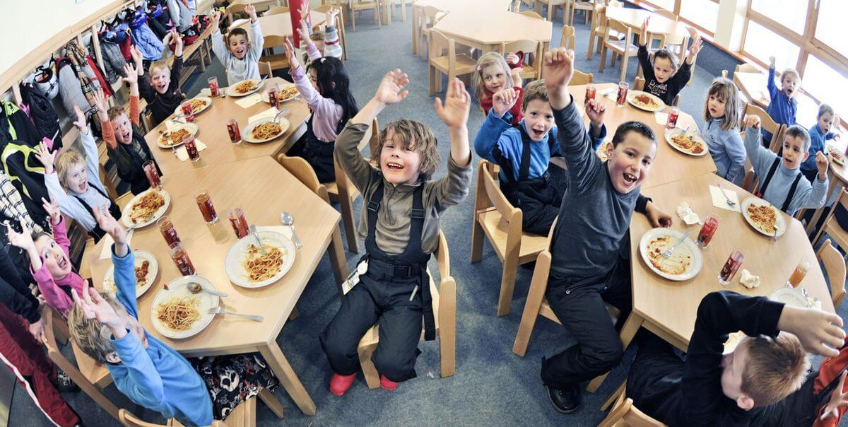 Kinderrestaurant Infrastruktur