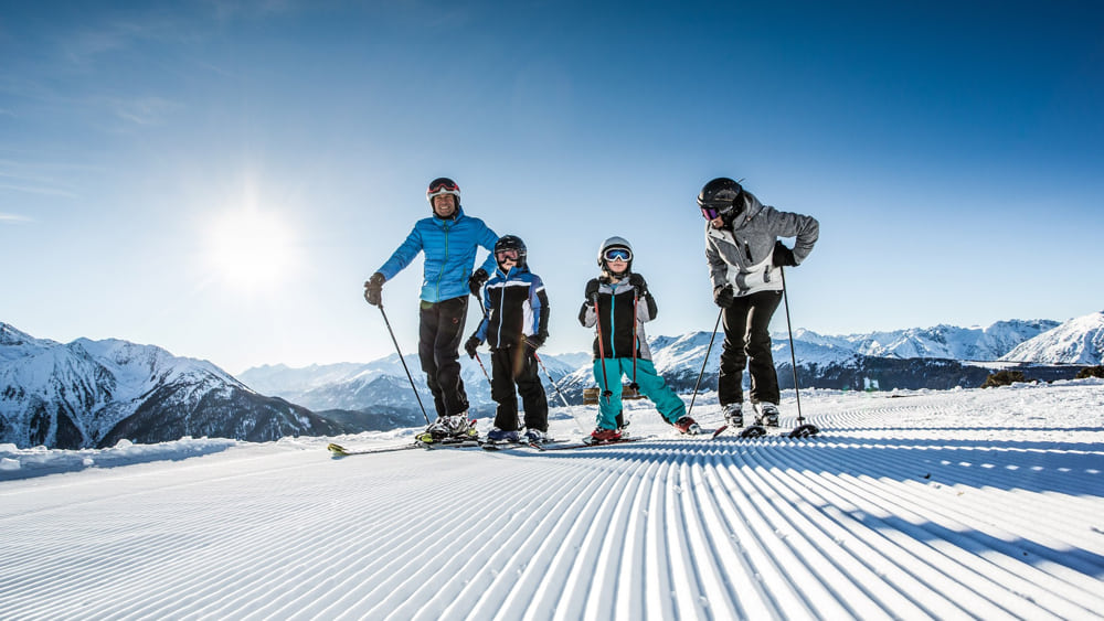 Familie Skigebiet Hochzeiger